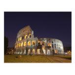 El Colosseum o el coliseo romano, originalmente Postal