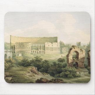 El Colosseum, Roma, 1802 (w/c sobre el grafito en  Alfombrilla De Raton