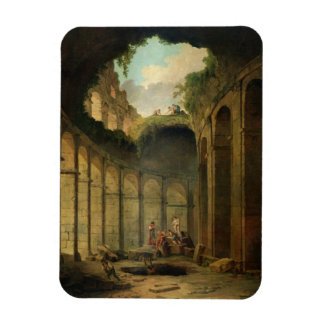 El Colosseum, Roma (aceite en lona) Imán