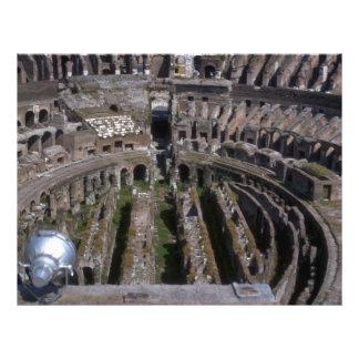 """El Colosseum, Roma Folleto 8.5"""" X 11"""""""