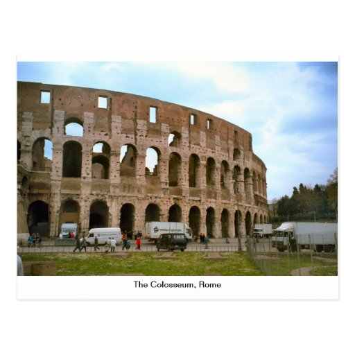 El Colosseum, Roma Postal