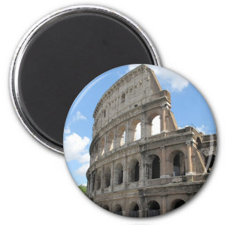 El Colosseum romano Imán Redondo 5 Cm