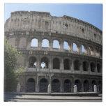 El Colosseum se sitúa en Roma, Italia. Su 2 Azulejo Cuadrado Grande