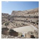 El Colosseum se sitúa en Roma, Italia. Su 3 Azulejo Cuadrado Grande