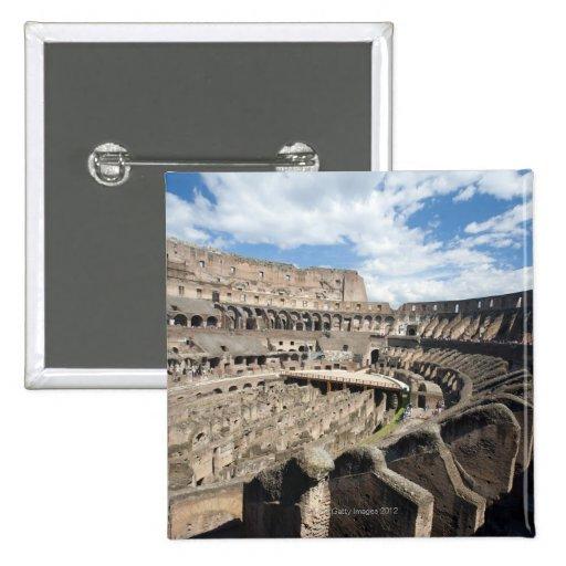 El Colosseum se sitúa en Roma, Italia. Su Pin Cuadrada 5 Cm