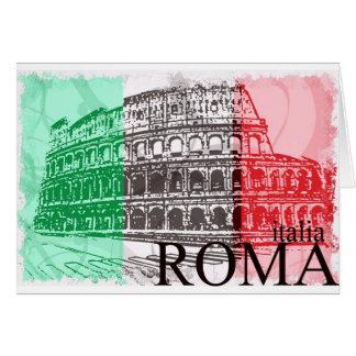 El Colosseum Tarjeta De Felicitación