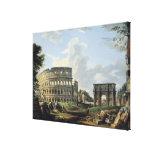 El Colosseum y el arco de Constantina Impresiones De Lienzo