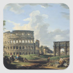 El Colosseum y el arco de Constantina Colcomanias Cuadradases