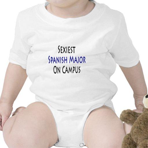 El comandante español más atractivo en campus trajes de bebé