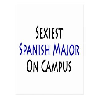 El comandante español más atractivo en campus postal