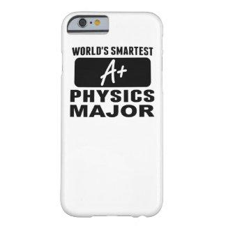 El comandante más elegante de la física del mundo funda para iPhone 6 barely there