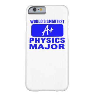 El comandante más elegante de la física del mundo funda de iPhone 6 barely there