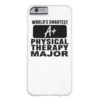 El comandante más elegante de la terapia física funda para iPhone 6 barely there