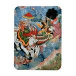 El combate de Krishna con INDRA, c.1590 Iman Flexible