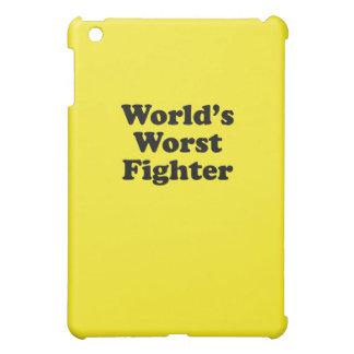 El combatiente peor del mundo