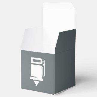 El combustible rellena el pictograma cajas para regalos de fiestas
