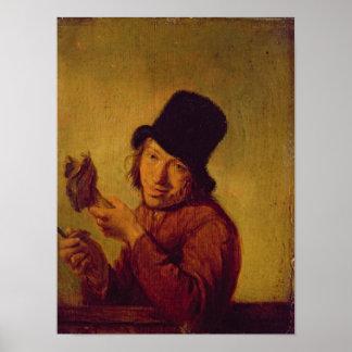 El comedor del jamón póster