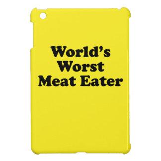 El comedor peor de la carne del mundo