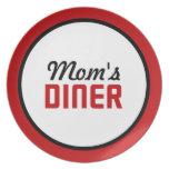 El comensal de la mamá platos de comidas