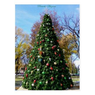 El comenzar a parecer mucho navidad… tarjeta postal