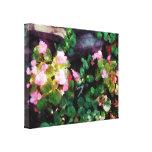 El COMENZAR DEBAJO de $100 - begonias por la pared Impresión En Lona