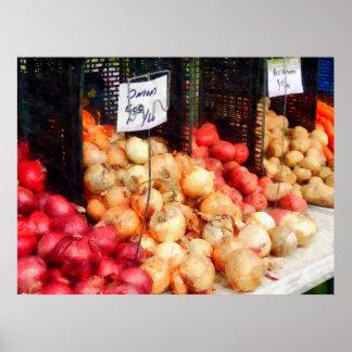 El COMENZAR DEBAJO de $20 - cebollas y patatas Impresiones