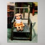 El COMENZAR DEBAJO de $20 - muñeca de trapo en sil Impresiones