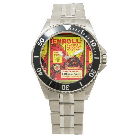 El comerciante americano Marino-Alista hoy Relojes De Pulsera