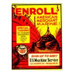 El comerciante americano Marino-Alista hoy Tarjeta Postal