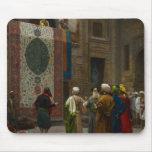 El comerciante de la alfombra, c.1887 (aceite en l alfombrilla de ratones
