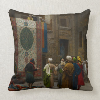 El comerciante de la alfombra, c.1887 (aceite en l cojin