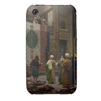 El comerciante de la alfombra, c.1887 (aceite en l iPhone 3 Case-Mate coberturas