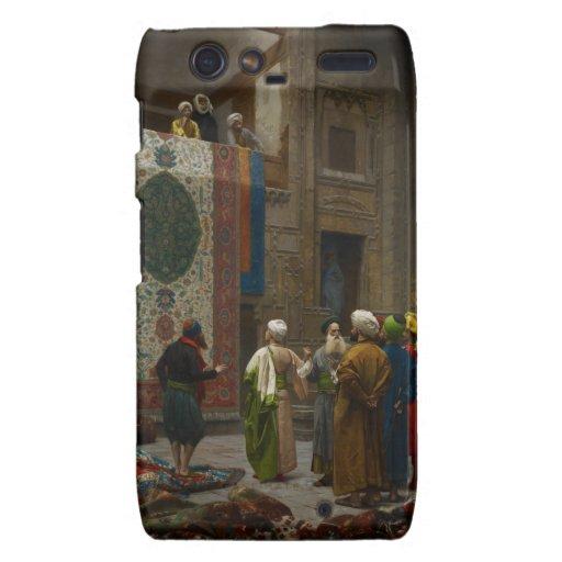 El comerciante de la alfombra, c.1887 (aceite en l motorola droid RAZR fundas