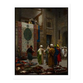 El comerciante de la alfombra, c.1887 (aceite en l postales