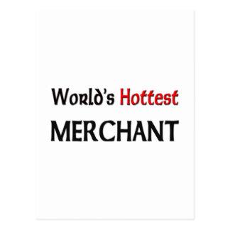 El comerciante más caliente de los mundos postal