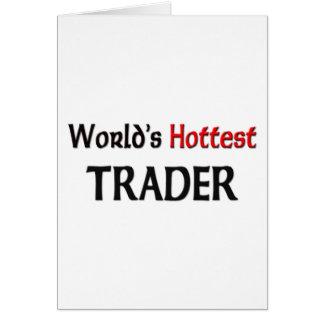 El comerciante más caliente del mundo tarjeta