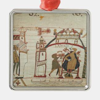 El cometa y Harold de Halley que reciben malas not Ornamente De Reyes