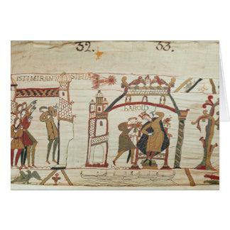 El cometa y Harold de Halley que reciben malas not Tarjetón