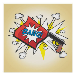 El cómic del arte pop inspiró el poster del arma d