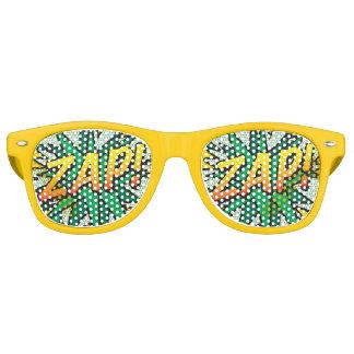 ¡El cómic ZAP! gafas de sol del fiesta Lentes De Fiesta
