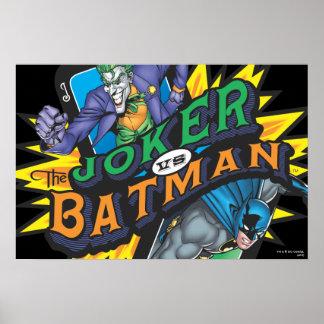 El comodín contra Batman Impresiones