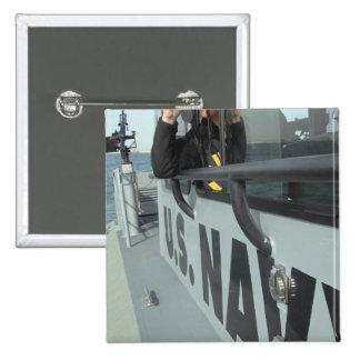 El compañero del Boatswain de la marina de guerra  Pin