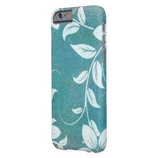El compañero del caso encajona las flores y los funda de iPhone 6 barely there
