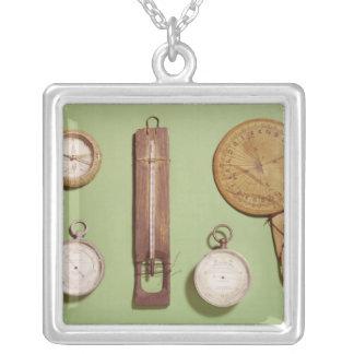 El compás de Scott, termómetro, reloj de sol, Joyeria