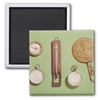 El compás de Scott, termómetro, reloj de sol, Iman Para Frigorífico
