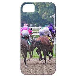 El competir con a la meta en Saratoga iPhone 5 Carcasa