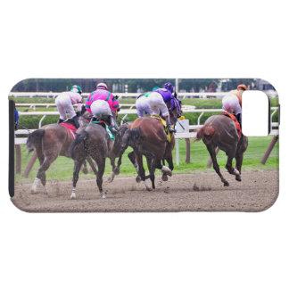 El competir con a la meta en Saratoga iPhone 5 Carcasas