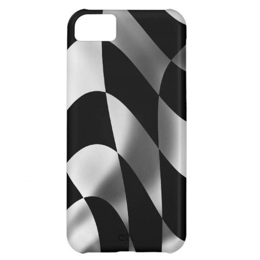 El competir con comprobado pasión de la bandera de funda para iPhone 5C
