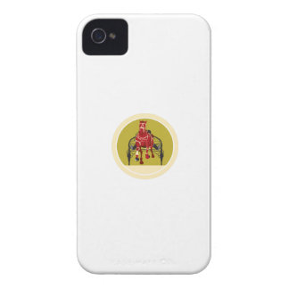 El competir con de arnés del caballo y del jinete Case-Mate iPhone 4 cobertura