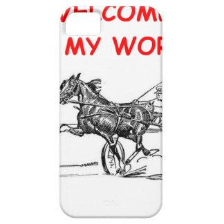 el competir con de arnés iPhone 5 carcasa